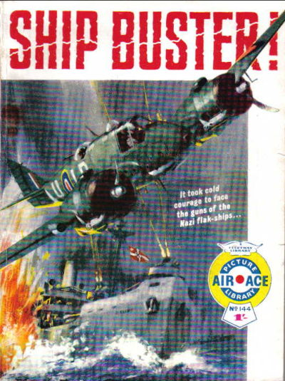 Cover for Air Ace Picture Library (IPC, 1960 series) #144
