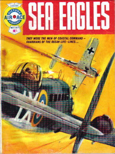 Cover for Air Ace Picture Library (IPC, 1960 series) #147