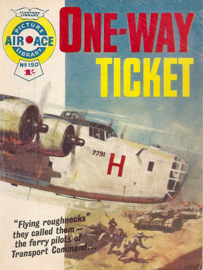 Cover for Air Ace Picture Library (IPC, 1960 series) #150