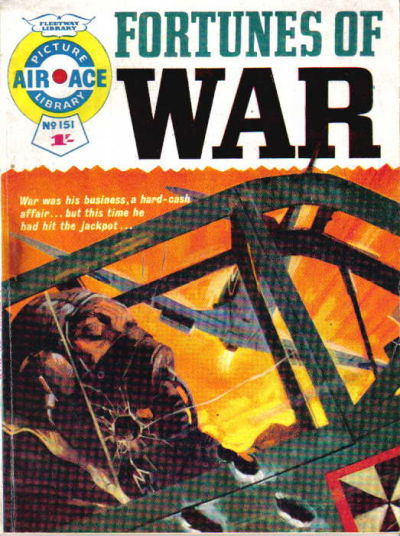 Cover for Air Ace Picture Library (IPC, 1960 series) #151