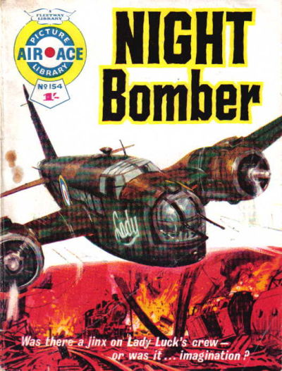 Cover for Air Ace Picture Library (IPC, 1960 series) #154