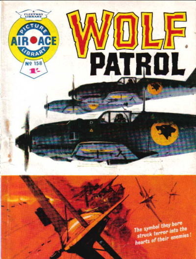 Cover for Air Ace Picture Library (IPC, 1960 series) #158
