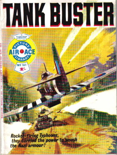 Cover for Air Ace Picture Library (IPC, 1960 series) #161
