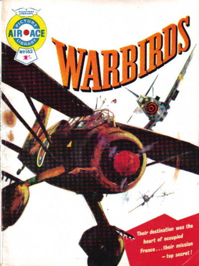 Cover for Air Ace Picture Library (IPC, 1960 series) #162