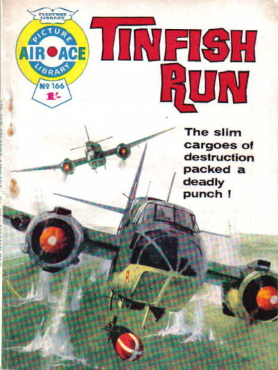 Cover for Air Ace Picture Library (IPC, 1960 series) #166