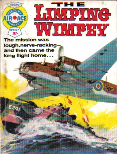 Cover for Air Ace Picture Library (IPC, 1960 series) #167