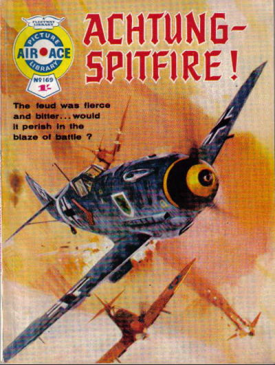 Cover for Air Ace Picture Library (IPC, 1960 series) #169