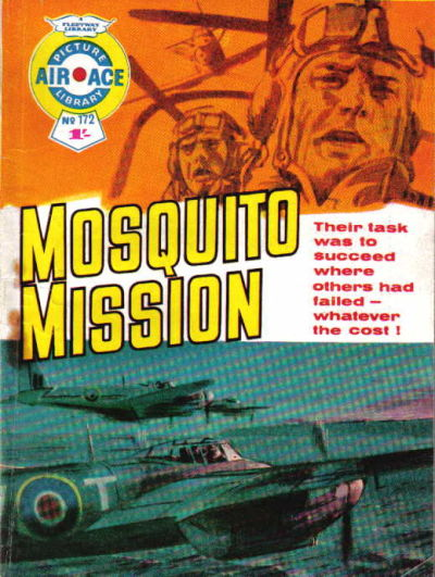 Cover for Air Ace Picture Library (IPC, 1960 series) #172