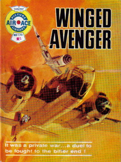 Cover for Air Ace Picture Library (IPC, 1960 series) #174