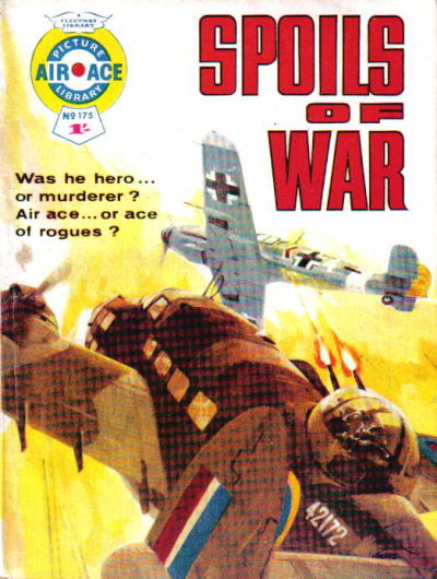 Cover for Air Ace Picture Library (IPC, 1960 series) #175