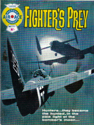 Cover for Air Ace Picture Library (IPC, 1960 series) #177