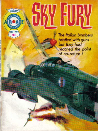 Cover for Air Ace Picture Library (IPC, 1960 series) #178