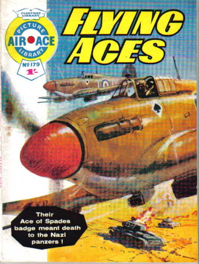 Cover for Air Ace Picture Library (IPC, 1960 series) #179
