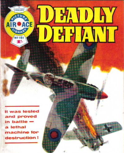 Cover for Air Ace Picture Library (IPC, 1960 series) #181