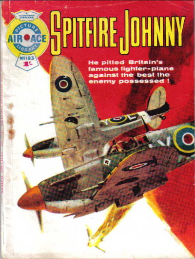 Cover for Air Ace Picture Library (IPC, 1960 series) #183