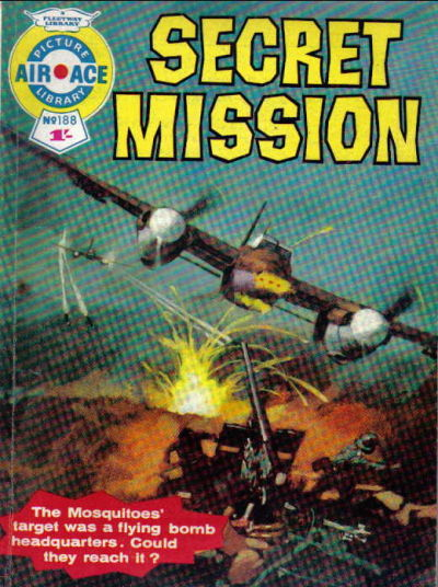 Cover for Air Ace Picture Library (IPC, 1960 series) #188