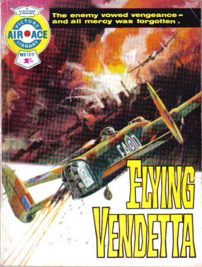 Cover for Air Ace Picture Library (IPC, 1960 series) #189