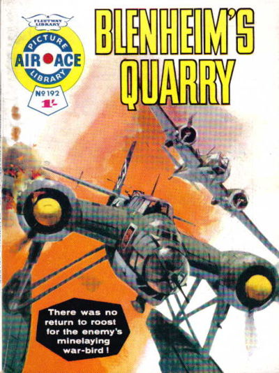 Cover for Air Ace Picture Library (IPC, 1960 series) #192