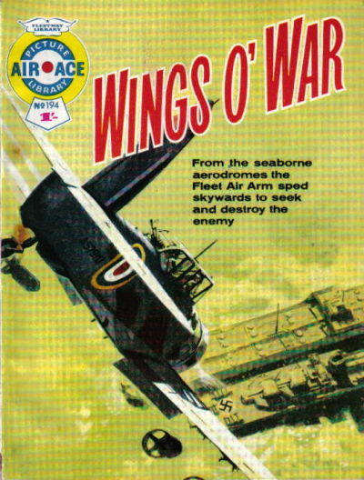 Cover for Air Ace Picture Library (IPC, 1960 series) #194