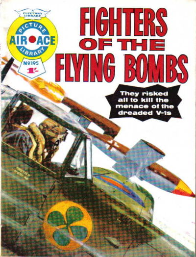 Cover for Air Ace Picture Library (IPC, 1960 series) #195
