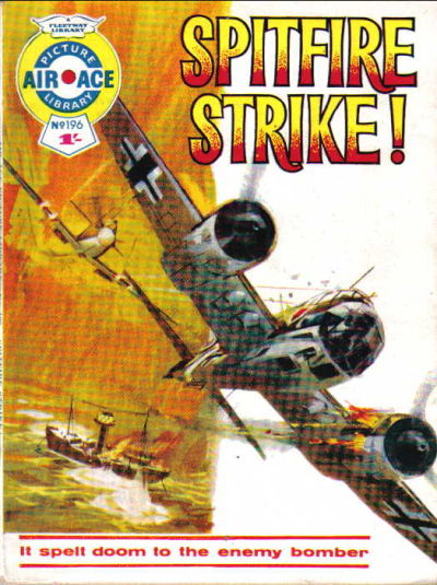 Cover for Air Ace Picture Library (IPC, 1960 series) #196