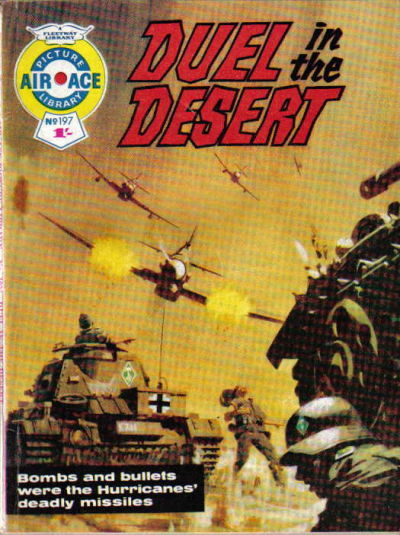 Cover for Air Ace Picture Library (IPC, 1960 series) #197