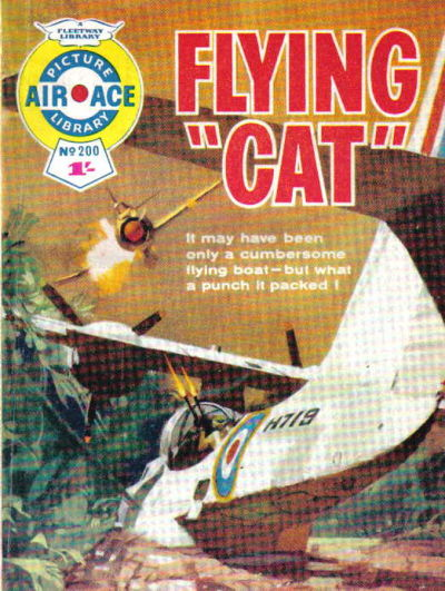 Cover for Air Ace Picture Library (IPC, 1960 series) #200