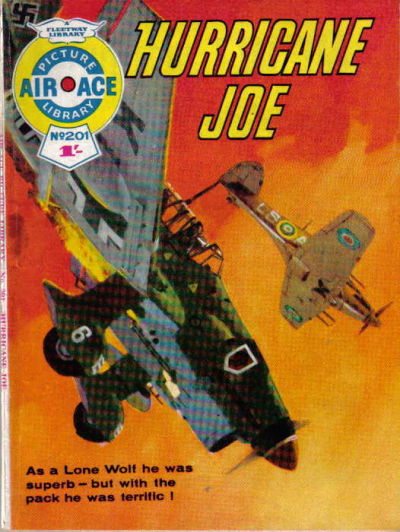 Cover for Air Ace Picture Library (IPC, 1960 series) #201