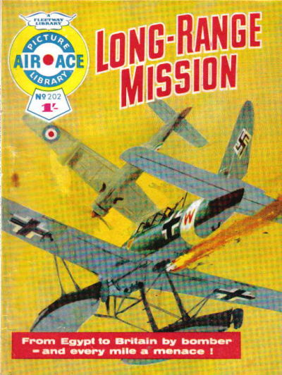 Cover for Air Ace Picture Library (IPC, 1960 series) #202