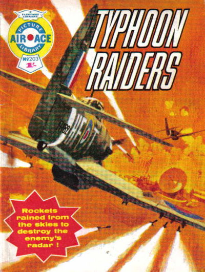 Cover for Air Ace Picture Library (IPC, 1960 series) #203