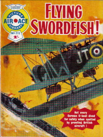 Cover for Air Ace Picture Library (IPC, 1960 series) #215