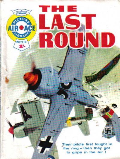 Cover for Air Ace Picture Library (IPC, 1960 series) #218