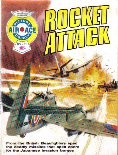Cover for Air Ace Picture Library (IPC, 1960 series) #224
