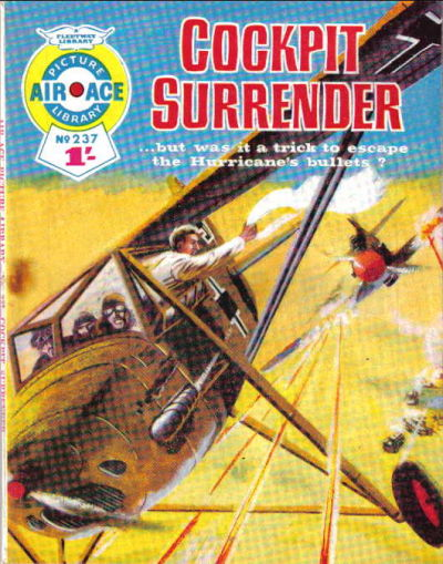 Cover for Air Ace Picture Library (IPC, 1960 series) #237