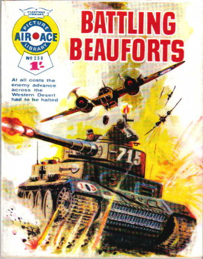 Cover for Air Ace Picture Library (IPC, 1960 series) #238