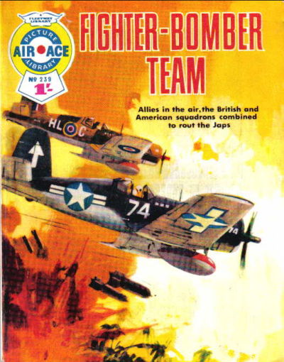 Cover for Air Ace Picture Library (IPC, 1960 series) #239