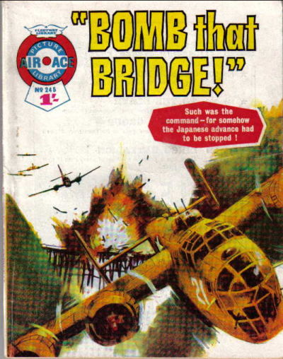 Cover for Air Ace Picture Library (IPC, 1960 series) #245