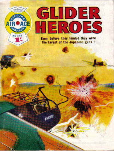 Cover for Air Ace Picture Library (IPC, 1960 series) #249