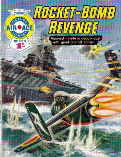 Cover for Air Ace Picture Library (IPC, 1960 series) #250