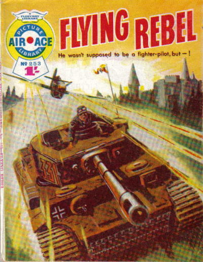 Cover for Air Ace Picture Library (IPC, 1960 series) #253