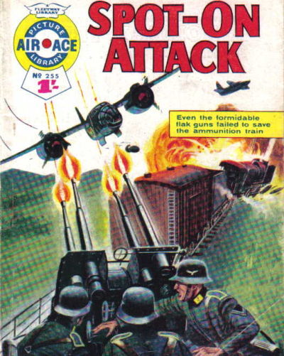 Cover for Air Ace Picture Library (IPC, 1960 series) #255