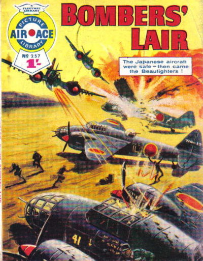Cover for Air Ace Picture Library (IPC, 1960 series) #257