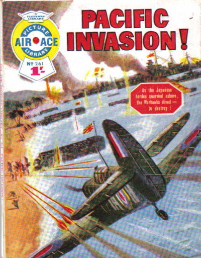 Cover for Air Ace Picture Library (IPC, 1960 series) #261