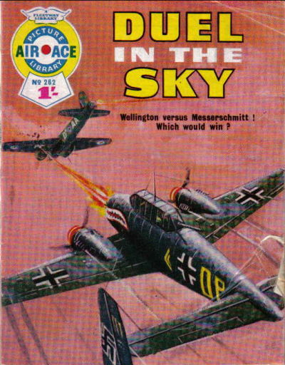 Cover for Air Ace Picture Library (IPC, 1960 series) #262