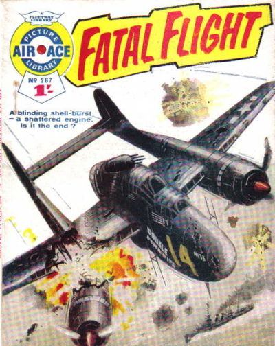 Cover for Air Ace Picture Library (IPC, 1960 series) #267