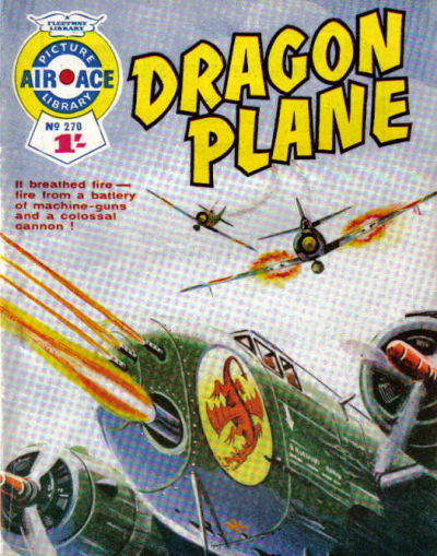 Cover for Air Ace Picture Library (IPC, 1960 series) #270