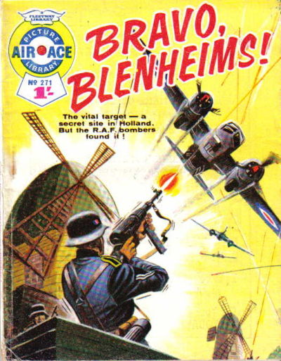 Cover for Air Ace Picture Library (IPC, 1960 series) #271
