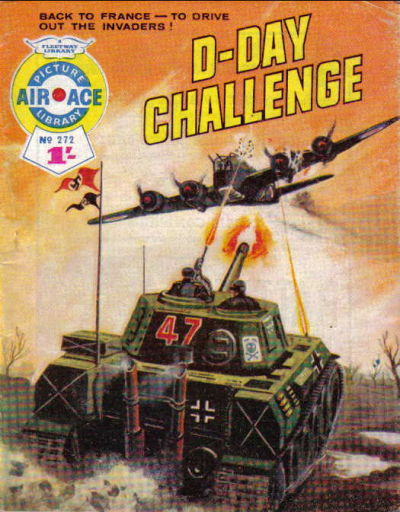Cover for Air Ace Picture Library (IPC, 1960 series) #272
