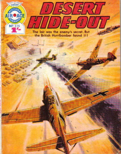 Cover for Air Ace Picture Library (IPC, 1960 series) #275