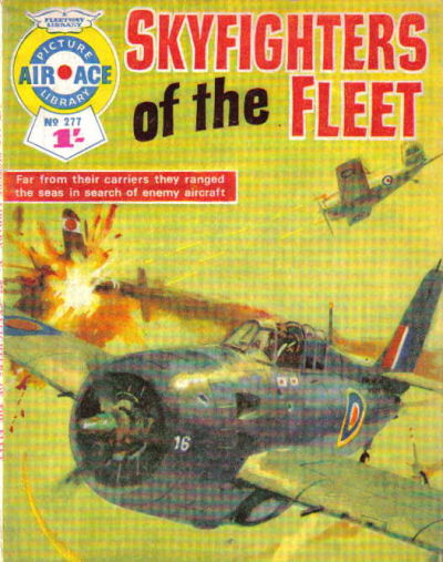 Cover for Air Ace Picture Library (IPC, 1960 series) #277